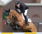 Eric Lamaze and Rosana du Park won the 34,000 Back On Track 1.50m at the Spruce Meadows National. Photo by Spruce Meadows Media Services