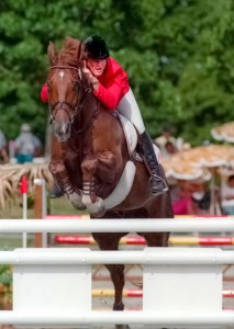 Danny Foster and Forever Diamond on their way to the individual gold medal in Cuba in 1991. (www.clixphoto.ca)