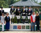 The Ontario Junior Team landed at the top of the podium after riding to a team score of 200.920 in the Junior Dressage Team competition at the 2015 Adequan FEI North American Junior & Young Rider Championships (NAJYRC) in Lexington, KY on July 15. Photo by StockImageServices.com