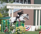 Richard Spooner and Chivas Z won the $85,000 ASHCOR Technologies Cup at Spruce Meadows Pan American. Photo by Spruce Meadows Media Services