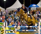 Canadian legend, Ian Millar, will fly the host nation flag when Jumping gets underway at the Pan-American Games 2015 in Caledon Park, Toronto, Canada next week. Photo by FEI/Ken Braddick