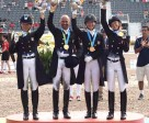 US Dressage Team. (Allen MacMillan/MacMillan Photography)