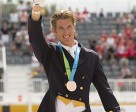 Chris von Martels of Ridgetown, ON, won an individual bronze medal in dressage competition at the TORONTO 2015 Pan American Games. (Cealy Tetley photo)