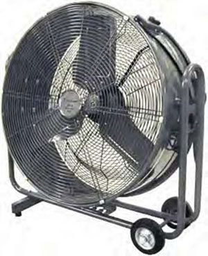 Fans are a great way to keep the air moving in your barn.