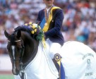 Quito de Baussy with Eric Navet in 1990. Photo by Kit Houghton