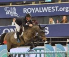 Keean White and Carrera Van Het Westleven Z winner of $35,000 Synoil Royal West International Championship, Phase 2 1.45 m.