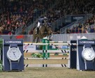 McLain Ward of the US, riding HH Azur, won the $75,000 Big Ben Challenge to close out international show jumping competition at the Royal Horse Show in Toronto, ON. (Ben Radvanyi Photography)
