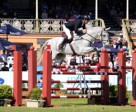 Shane Rose (AUS) created history today by taking first and second places at the Adelaide International 3 Day Event, second leg of the FEI Classics™ 2015/2016, with CP Quaified (pictured) and Virgil. Photo by FEI/Julie Wilson