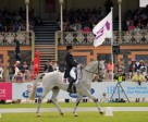 Shane Rose and CP Qualified lead after Dressage at the Adelaide International 3 Day Event, second leg of FEI Classics™. Photo by FEI/Julie Wilson