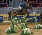 Colombia's Daniel Bluman and Conconcreto Sancha LS opened the international show jumping division of the Royal Horse Show with a win in the $20,000 International Jumper Power and Speed on Tuesday, November 10. (Ben Radvanyi Photography)