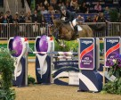 Mclain Ward of the United States and HH Azur jumped to victory in the $132,000 Longines  FEI World Cup™ Jumping Toronto on Wednesday, November 11, at the Royal Horse Show. (Ben Radvanyi Photography)