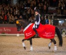 Germany's Isabell Werth and Weihegold produced their second consecutive victory in the Reem Acra FEI World Cup™ Dressage 2015/2016 Western European League when coming out on top at the second-last qualifier on home ground in Neumünster. Photo by FEI/Stefan Lafrantz