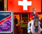 Pius Schwizer and PSG Future produced a superb host-nation victory at the tenth leg of the Longines FEI World Cup™ Jumping 2015/2016 Western European League in Zurich (SUI). Photo by FEI/Tomas Holcbecher