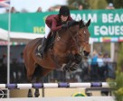 Jessica Springsteen and Davendy S won the $86,000 Suncast® 1.50m Championship Jumper Classic to Conclude WEF 5. Photo by Sportfot