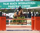 Margie Engle and Abunola won the $35,000 Ruby et Violette WEF Challenge Cup Round 10. Photo by Sportfot