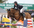 Darragh Kenny and Red Star d'Argent won the $35,000 Ruby et Violette WEF Challenge Cup Round 11. Photo by Sportfot