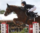 Reed Kessler and Cylana won the $130,000 Ruby et Violette WEF Challenge Cup Round 9. Photo by Sportfot