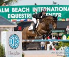 Tiffany Foster of North Vancouver, BC, guides Brighton to victory in the $35,000 Ruby et Violette WEF Challenge Cup Round VIII held March 3 for owners Artisan Farms and Torrey Pines Stable. Photo by Starting Gate Communications