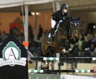 Kaely Tomeu and Gentille won the $25,000 Artisan Farms Under 25 Grand Prix Semi-Final. Photo by Sportfot