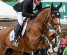 Canadian Olympic Champion Eric Lamaze and Fine Lady 5, pictured here competing at the 2016 Winter Equestrian Festival in Wellington, FL, won the €28,000 1.50m Prix FFE on opening day of CSIO5* La Baule, France, for owners Artisan Farms and Torrey Pines Stable. Photo by Starting Gate Communications