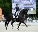 Kasey Perry-Glass and Goerklintgaards Dublet led Team USA to a convincing victory at the third leg of the FEI Nations Cup™ Dressage 2016 series at Compiegne (FRA). Photo by FEI/Christophe Bricot