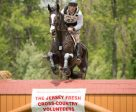 Ryan Wood and Powell lead the CCI3* at the Jersey Fresh International Three-Day Event following cross country. Photo by Shannon Brinkman