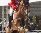 Yann Candele and First Choice 15 at the Furusiyya FEI Nations' Cup at CSIO 5* Rome. Photo by Csio Roma/M. Proli