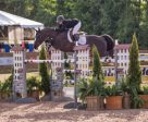 Erynn Ballard and Z Diamanty won the 35,000 Ecclestone Horse Transport Open Welcome at Angelstone Farms. Photo by Mackenzie Clark for Ben Radvanyi Photography