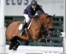 Kent Farrington and Gazelle won the Bantrel Cup 1.55m. Photo by Spruce Meadows Media Services