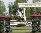 Eric Lamaze and Check Picobello Z won the Husky Energy Classic 1.50m. Photo by Spruce Meadows Media Services