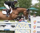 Eric Lamaze and Rosana du Park won the Repsol Cup 1.50m at the Spruce Meadows Continental. Photo by Spruce Meadows Media Services