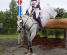 Colleen Loach of Dunham, QC was the inaugural winner of the Stuart R. Horne Canadian Eventing Championships after a third place finish with Qorry Blue d'Argouges in the CIC 3* division at the Jaguar Land Rover Bromont Three Day Event, held June 9-12 in Bromont, QC. Photo by Cealy Tetley