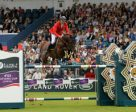 Piergiorgio Bucci and Casallo Z clinched victory for Italy in a jump-off at the penultimate leg of the Furusiyya FEI Nations Cup™ Jumping 2016 Europe Division 1 League in Dublin (IRL). Photo by FEI/Tony Parkes