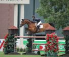 Lucy Deslauriers and Hester won the Friends of the Meadows Cup 1.50m at Spruce Meadows. Photo by Spruce Meadows Media Services