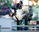 Antonio Maurer and Galileo de Laubry won the LaFarge Cup 1.50m at Spruce Meadows. Photo by Spruce Meadows Media Services