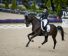 Kristina Bröring-Sprehe demonstrated exactly why she is the world no. 1 rider when leading Germany to a convincing victory yesterday in the sixth and final leg of the FEI World Cup™ Dressage 2016 series partnering Desperados. Photo by FEI/Dirk Caremans