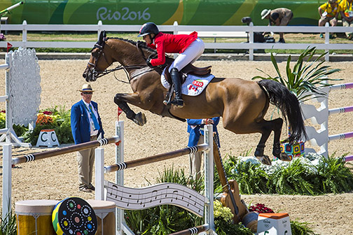 Amy Millar and Heros finish three rounds of competition with 17 faults and tie for 38th place individually.