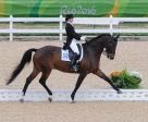 Belinda Trussell and Anton in the Grand Prix Special in Rio.