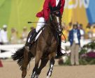Eric Lamaze and Fine Lady 5 on their way to winning the bronze medal at the 2016 Olympic Games in Rio de Janeiro