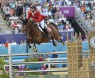 Switzerland's Steve Guerdat and Nino des Buissonnets will be going for a record-breaking back-to-back double of individual gold medals in Jumping at the Rio 2016 Olympic Games. Photo by FEI/Kit Houghton