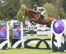 The United States' Karl Cook pilots Tembla to the win in the $135,600 Longines FEI World Cup™ Jumping Langley. Photo by FEI/Rebecca Berry