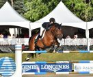 Lucy Deslaurieres and Hester won the FEI Assante Classic at International Bromont. Photo by Tom von kap-Herr