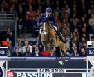 Germany's Daniel Deusser and Equita van T Zorgvliet galloped to victory in the third leg of the Longines FEI World Cup™ Jumping 2016/2017 Western European League at Lyon, France today. Photo by Pierre Costabadie/FEI