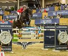 The United States' Jenni McAllister pilots Legis Touch The Sun to the top in the $132,000 Longines FEI World Cup™ Jumping Royal West. Photo by FEI/Aimee Makris
