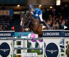 Tucking up his toes and jumping to perfection, Taloubet Z carried Germany's Christian Ahlmann to victory in the fifth leg of the Longines FEI World Cup™ Jumping 2016/2017 Western European League at Stuttgart, Germany. Photo by Stefan Lafrentz/FEI