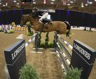 Germany's Christian Heineking and Aje Cluny had luck on their side in Las Vegas to win by 1/100th of a second in the fifth leg of the Longines FEI World Cup™ Jumping 2016/2017 North American League Western Sub-League. Photo by FEI/Julia Borysewicz