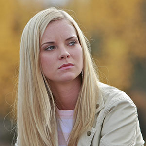 Cindy Busby is Ashley Stanton on Heartland