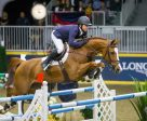 Kent Farrington (USA) won the $75,000 GroupBy 'Big Ben' Challenge riding Creedance to close out the CSI4*-W Royal Horse Show on Saturday, November 12, in Toronto, ON. (Ben Radvanyi Photography)