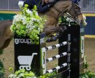 Ian Millar of Perth, ON, won the $100,000 Greenhawk Canadian Show Jumping Championship riding Dixson on Saturday, November 5, at the Royal Horse Show in Toronto, ON. (Ben Radvanyi Photography)