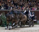 Boyd Exell (AUS) won the CAI-W Geneva for the 9th consecutive time. Photo by FEI /Dirk Caremans